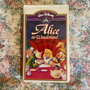 Alice in Wonderland VHS